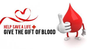 Be a Hero- Give Blood!