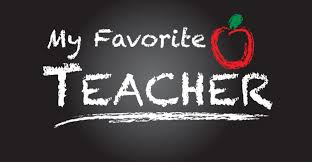 Favorite Teachers- A New Tradition