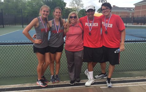 Tennis Teams are State-bound!