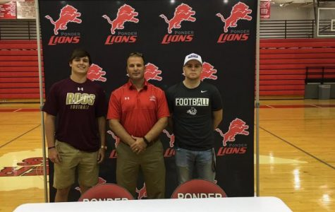 Two More Seniors Sign to Play College Ball