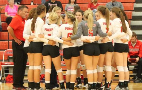 Volleyball Breaks out the Brooms…Twice
