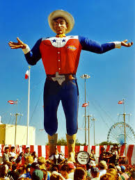 "Big Tex Says ""It's State Fair Time!"""