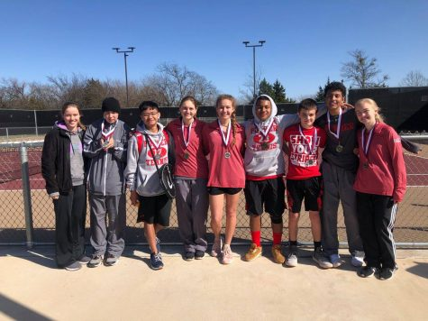 PHS Tennis Aces Denton Tournament