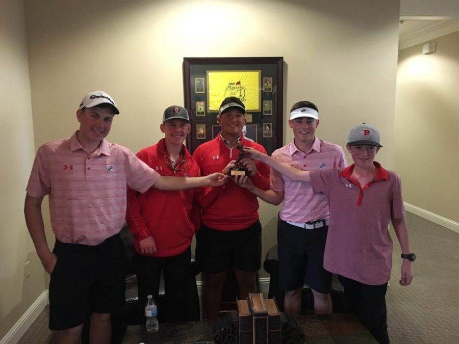 PHS+Golf+Comes+Home+with+a+Third+Place+Win
