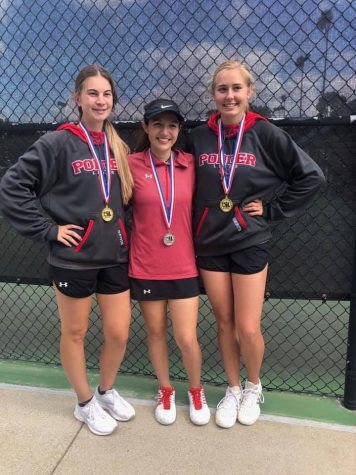 Varsity Tennis is District Champs; Next Stop Regionals