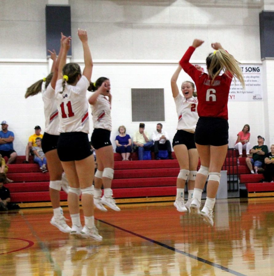 Volleyball Loses a Tough One to Boyd