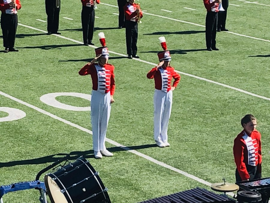 Ponder Lions Band District Marching Contest