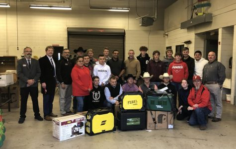 ESAB Donates Equipment to PHS Ag Department