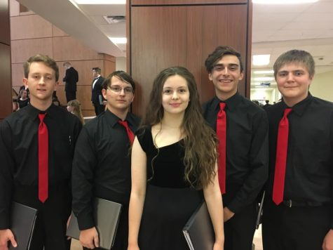 PHS Choir Reps at All Region Contest