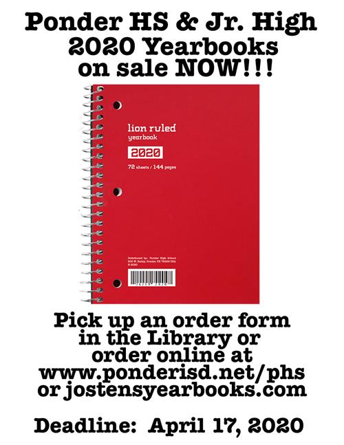 2020+Yearbooks+on+Sale