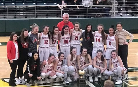 Wells and Ivy Lead the Lady Lions to a Bi-District Victory