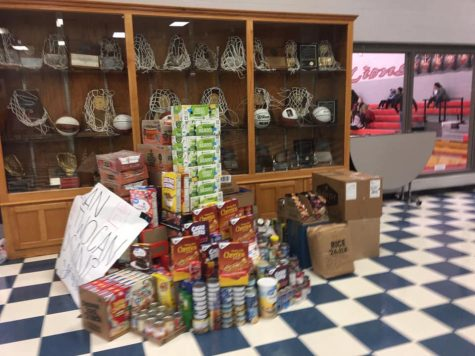 "Ponder ""Cans"" Pottsboro in Food Drive Results"