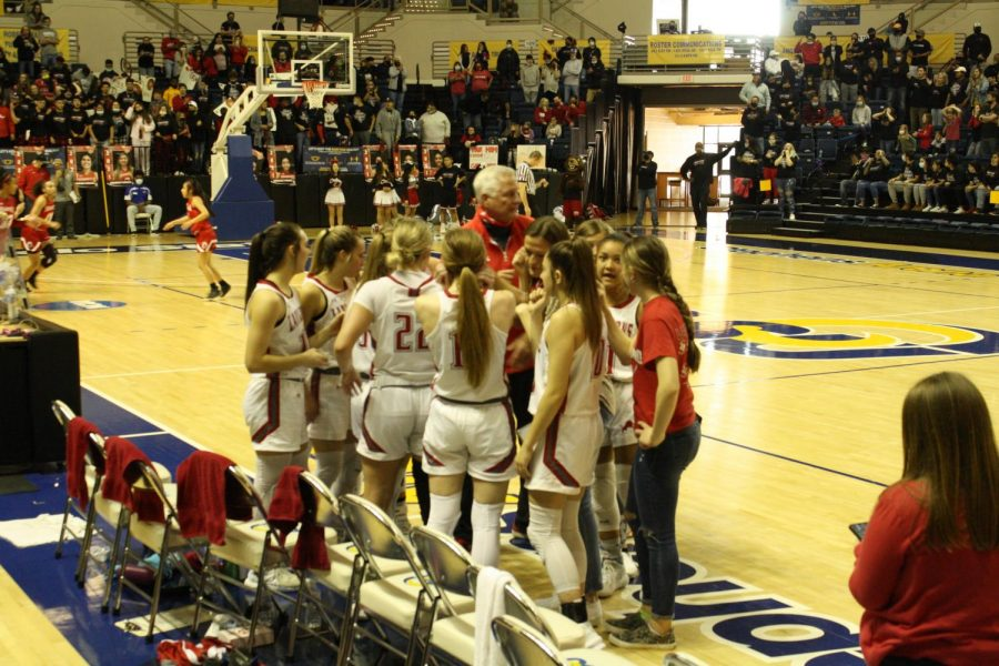 Lady Lions Basketball Playoff Dreams Stopped by Lady Cubs