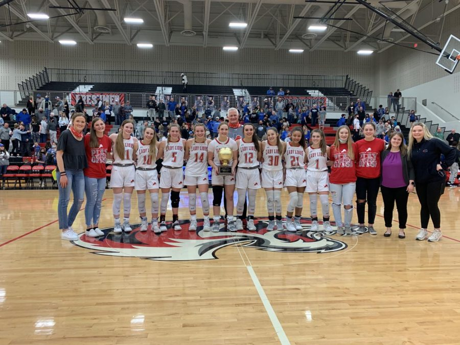 Lady Lions Lead All District Awards