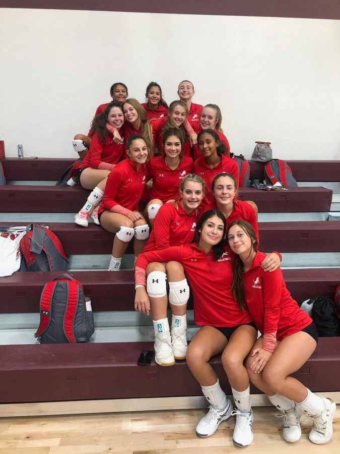 Volleyball Loses Tough One to Nocona