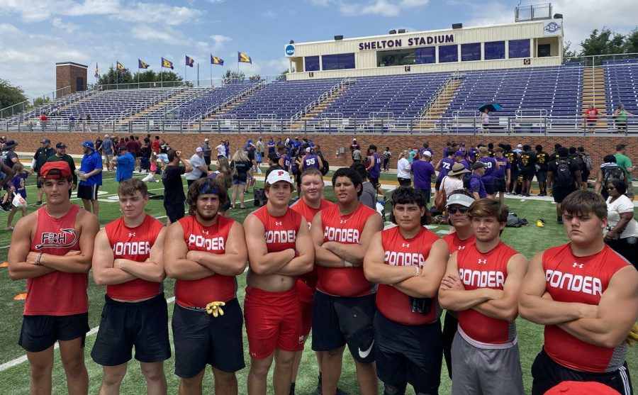 PHS Lineman Live up to Challenge this Summer with a 3rd Place Finish